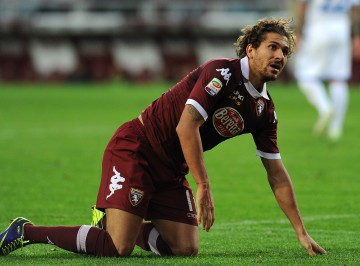 TURIN, ITALY - NOVEMBER 24:  Alessio Cerci of Torino FC looks on during the Serie A match between Torino FC and Calcio Catania at Stadio Olimpico di Torino on November 24, 2013 in Turin, Italy.  (Photo by Valerio Pennicino/Getty Images)
